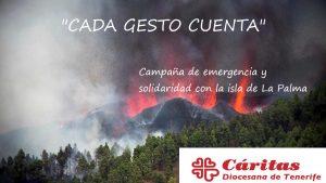 Cada Gesto cuenta, ayuda a La Palma